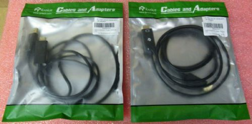 Job Lot of 2 x Rankie DisplayPort (DP) to HDMI Adapter, 4K Resolution Converter